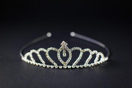 Metal Tiara Queen-0