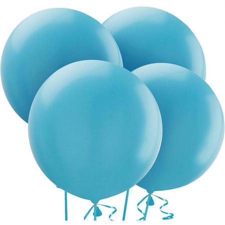 "36"" Pastel Light Blue Bladder Balloons - 1PC-0"