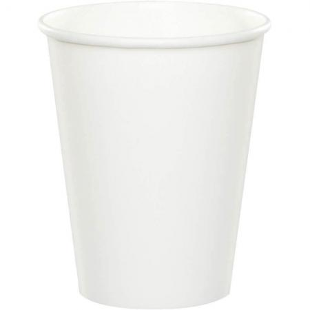 White Paper Cups 270ML - 24PC-56000B