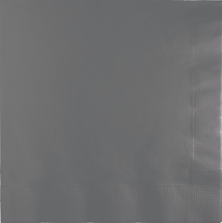 Glamor Grey Napkins 2PLY 6.5 - 50PC-339641