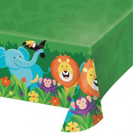 Jungle Safari Pls. Tablecover 54x102-340208