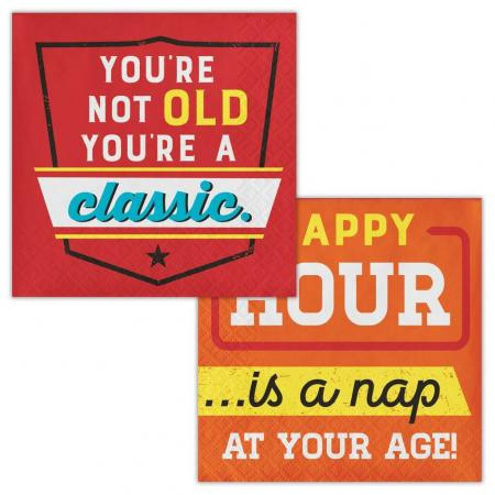 Happy Hour is a Nap Beverage Napkin - 16PC-339861.png 3