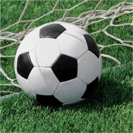 Soccer Napkins - 18PC-667966