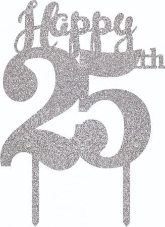 happy_25th_acrylic_silver_glitter_cake_topper_800717a