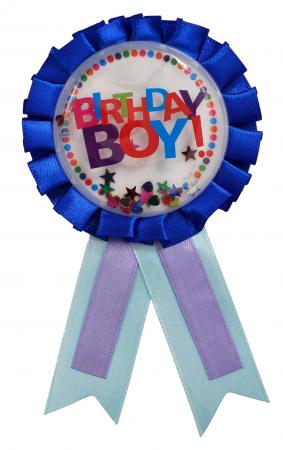 Birthday Boy Award Ribbon_702356