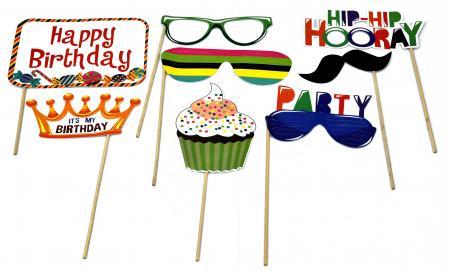 Happy Birthday Photo Props_702176