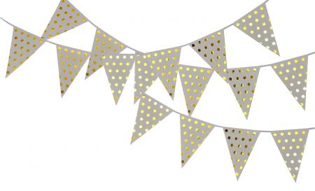 Polka Golden Dot Buntings_702338