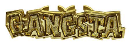 Gangsta Hip Hop Rapper Bling Rings_702360A