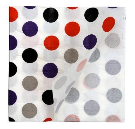 Cabana Dot Paper Napkins_702213A
