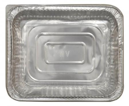 Disposable Aluminium Foil Food Containers with Lid Small Size_702495A
