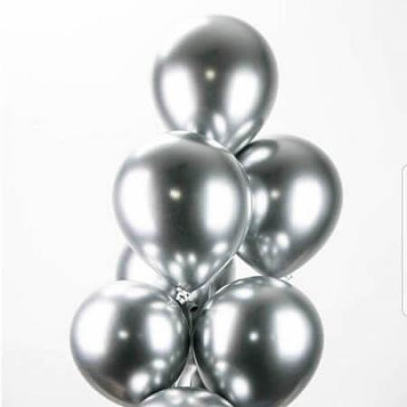 Chome Silver Balloons_702218A