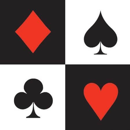 Card Night Casino Beverage Napkins - 16PC-0