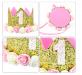 801159_1st Birthday Girl Crown_w Flower Hat_1