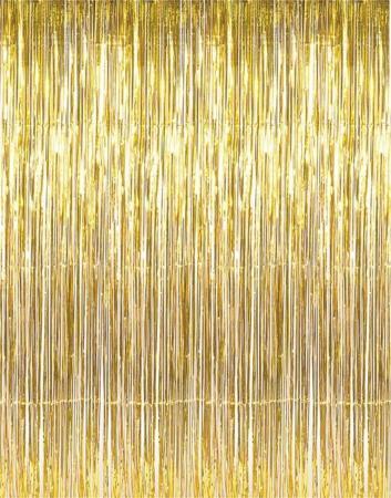 Gold Foil Curtain_702707_Image 1
