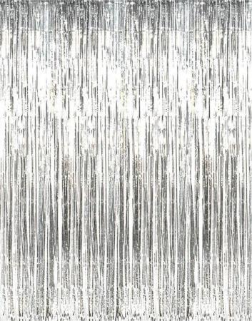Silver Foil Curtain_702708_Image 1