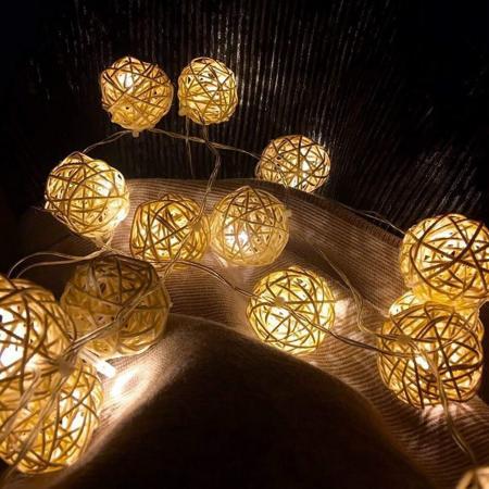 Nest Rattan Ball Ferry String Lights_801293_Image 1