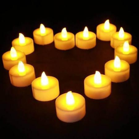 LED Candle Warm White Small_801296_Image 2