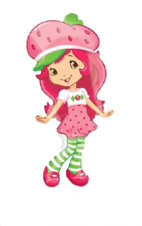"Strawberry Shortcake Pattern Balloons 31""-0"