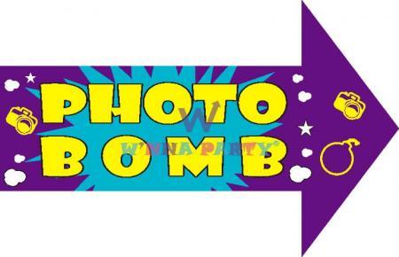 Photo Bomb Photo Prop-0