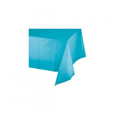 "Tablecover-Bermuda Blue Plastic 54x108""-0"