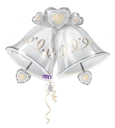 Wedding Bells SuperShape Balloons P35-0