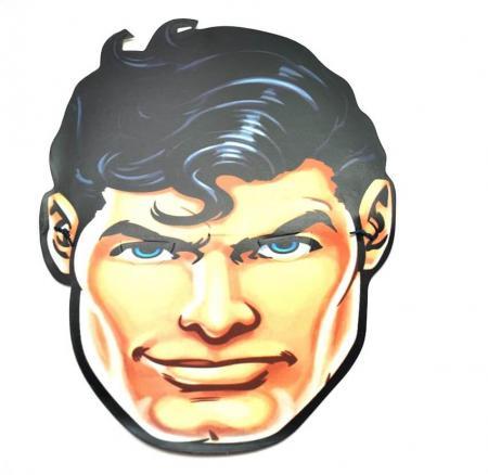 Superman Face Masks - 10CT-0