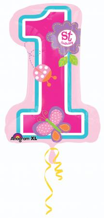 "1st Sweet Birthday Girl 28"" P30-0"
