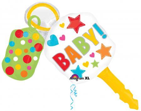 "Baby Keys Balloons 38"" P35-0"
