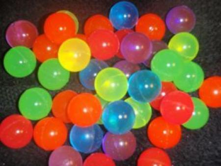 Neon Icy Bounce Ball Favors - 12PC-0