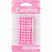 Candy Pink Dots Cake Candle - 12PC-10391