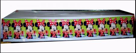 "Minnie Mouse Table Cover -52""in X 86""in-0"