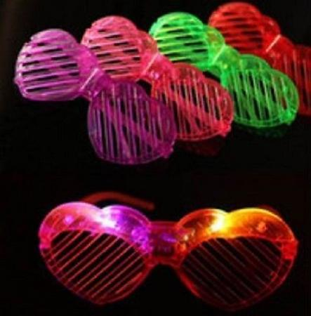 LED Shutter Shades Heart-0