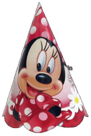 Minnie Club House Paper Caps - 10PC-0