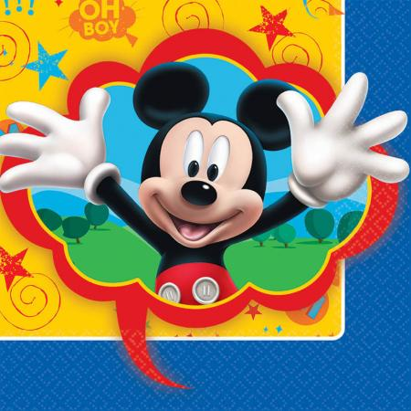 Mickey Mouse Lunch Napkins - 16PC-0