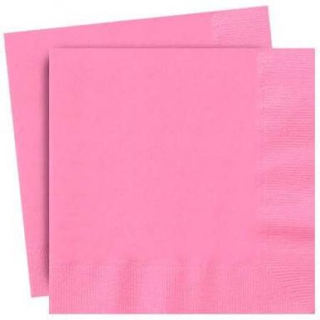 Light Pink Paper Napkins - 20PC-0