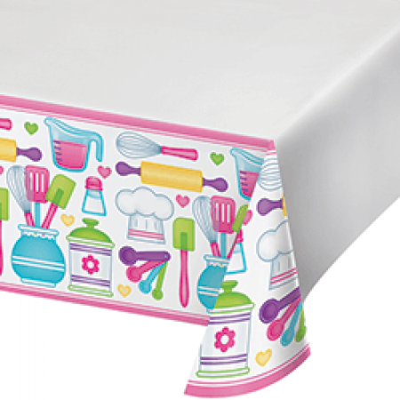 """Little Chef Tablecover 54 x 102""""-0"""
